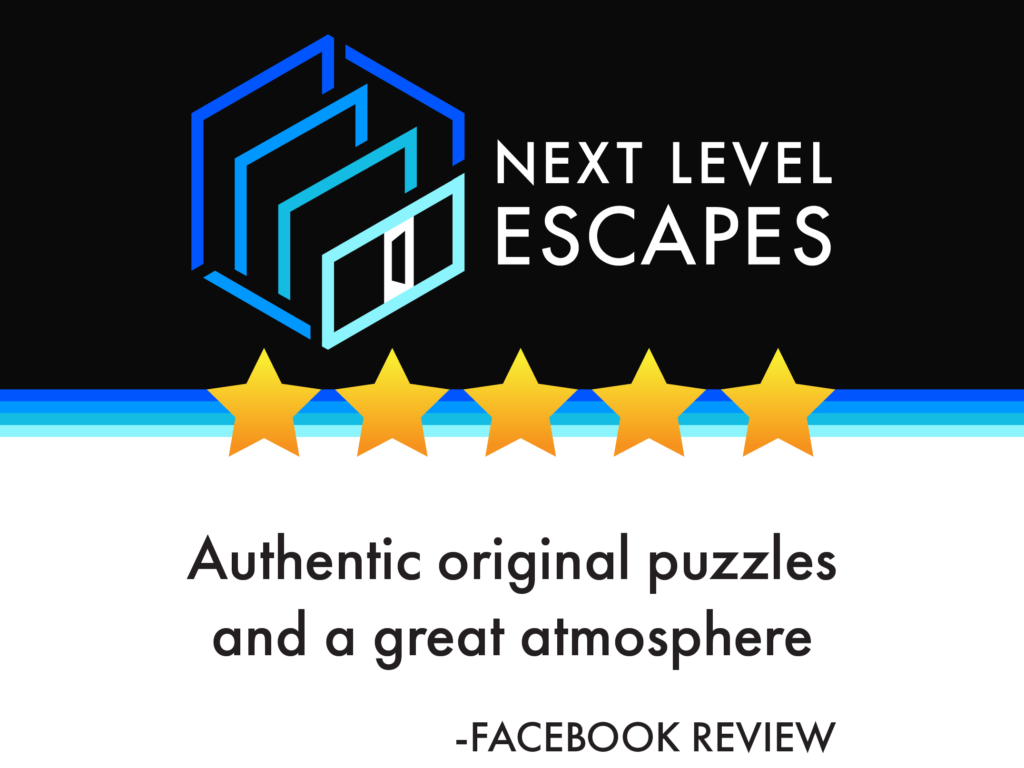 Authentic original puzzles and a great atmosphere